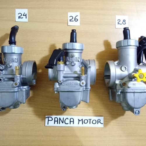 Foto Produk Karburator KEIHIN PE 24 PE 26 PE 28 / Karbu Pe24 Pe26 Pe28 Karbulator - PE26 dari Panca Motor Variasi