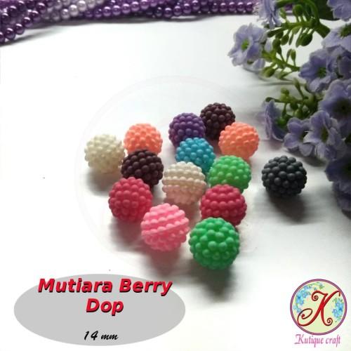 Foto Produk Mutiara Berry / Mutiara Jeruk Warna Dop per lusin dari Kutique Craft