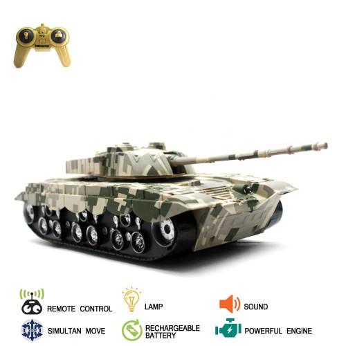 Foto Produk Mainan Remote Control RC Tank Tiger dari Mafemale