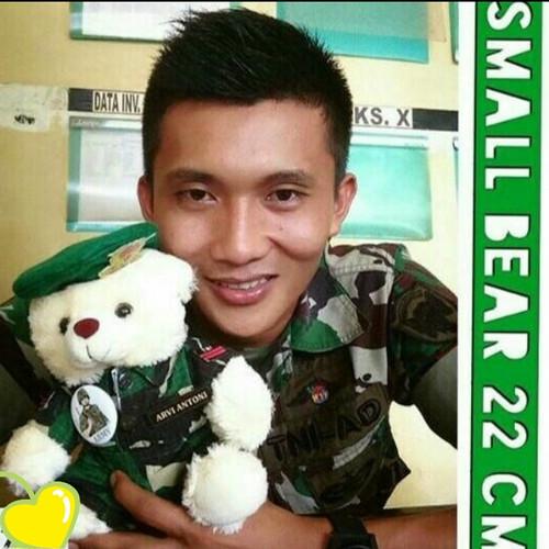 Foto Produk Souvenir Boneka Profesi TNI AD Tentara Army Gratis Ukir Nama dari Queen Shop II