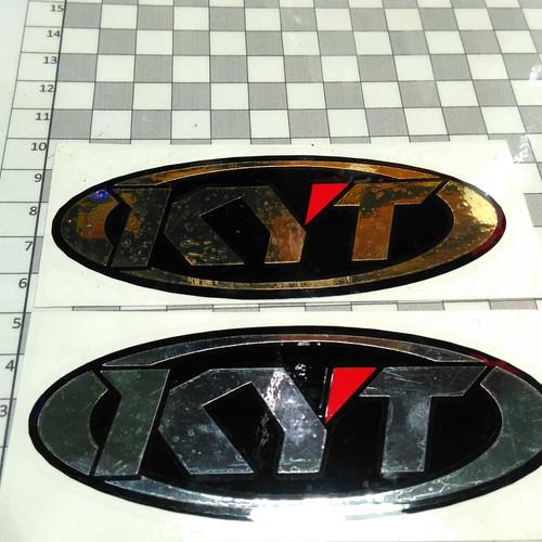 Foto Produk Cutting sticker KYT chrome dari King Star Online Shop