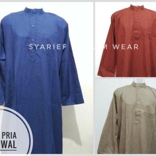 Foto Produk Gamis Pria Ajjarwal - Murah & Berkualitas dari Syarief Muslim Wear