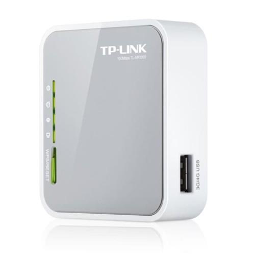 Foto Produk TP-LINK TL-MR3020 : Portable 3G/3.75G Wireless N Router 150 Mbps dari Master Networks
