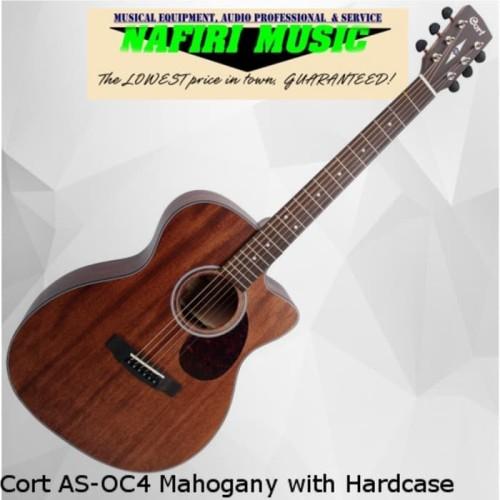 Foto Produk Cort AS-OC4 Mahogany with Hardcase dari Nafiri Music Store