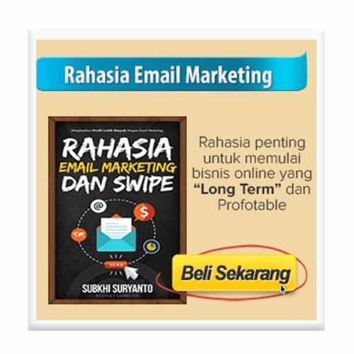 Foto Produk RAHASIA EMAIL MARKETING & SWIPE dari Tenda Digital
