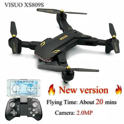 Foto Produk Drone Visuo XS809S Battlesharks upgrade XS809HW dari condetshop