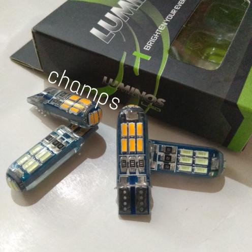 Foto Produk Lampu LED Senja Kota Sein T10 15 Titik Luminos Nine Jelly Sepasang dari Champs