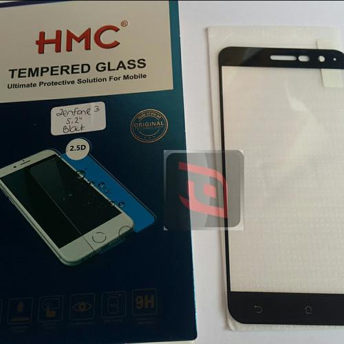 Foto Produk HMC tempered glass 2.5D full cover Asus Zenfone 3 5.2 ZE520KL dari waroenk aksesoris ori