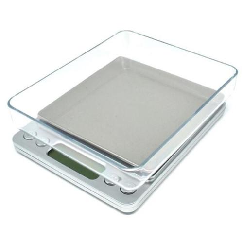 Foto Produk Timbangan Digital Digital Scale 0.1 - 1000 gram timbangan kue kopi teh - Maks. 1kg dari Guguru