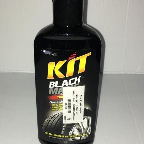 Foto Produk Kit black magic Tire gel ( 300 ml ) semir ban B0X0BR-KBG-03 -06312 dari Jasutra motor