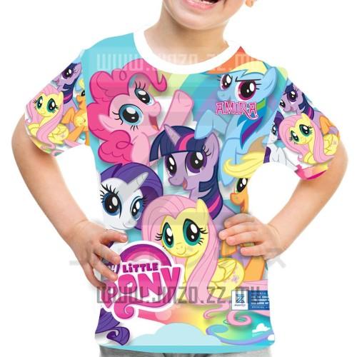 Foto Produk Kaos Anak My Little Pony 2 dari Jinzo Series