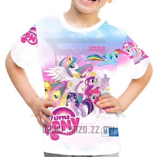 Foto Produk Kaos Anak My Little Pony 1 dari Jinzo Series