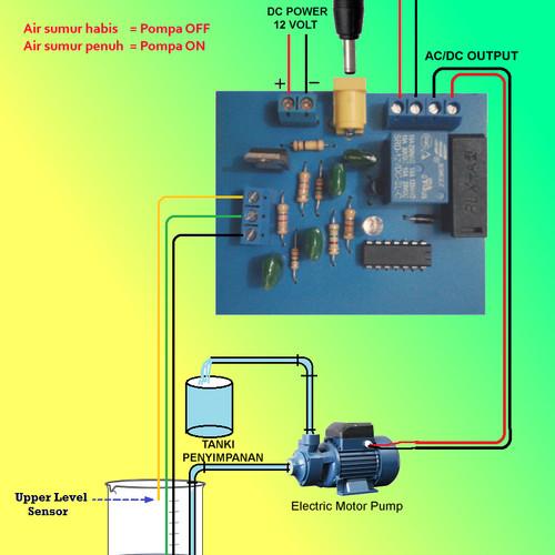 Jual Modul Kontrol Pengurasan Air Kontrol Pompa Air Kota Bandar Lampung J B N Tokopedia