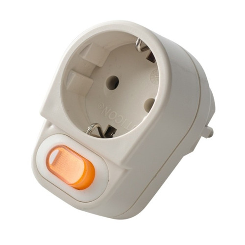 Foto Produk Stop Kontak Steker Switch Saklar On Off Uticon dari Kms Acc
