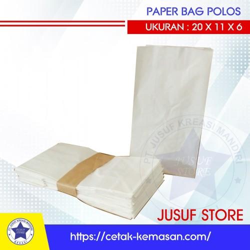 Foto Produk Paper bag polos - Kantong Polos dari new Jusuf Store