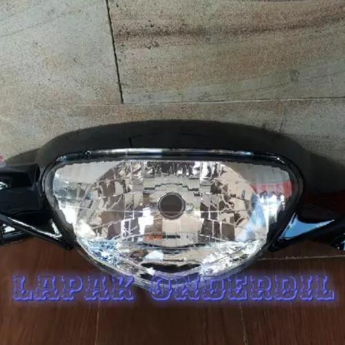 Foto Produk batok depan mio sporty plus lampu hitam dari ONDERDIL MOTOR PEDIA
