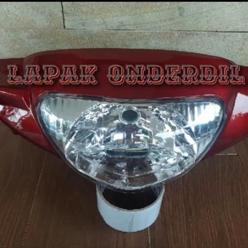 Foto Produk batok depan mio sporty plus lampu reflektor dari ONDERDIL MOTOR PEDIA