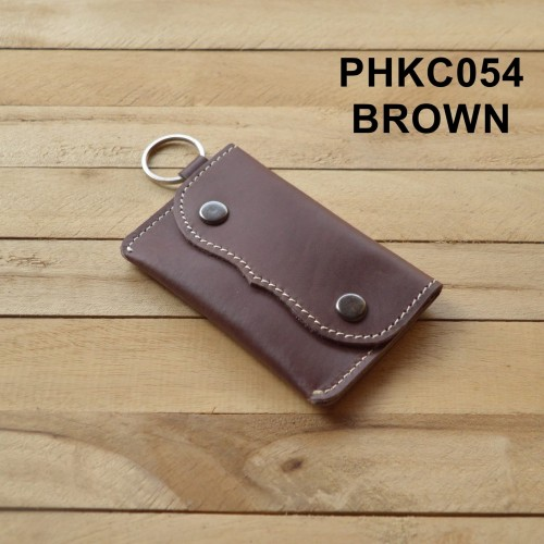 Foto Produk dompet STNK kulit asli - gantungan kunci mobil motor - coklat PHKC054 dari philo
