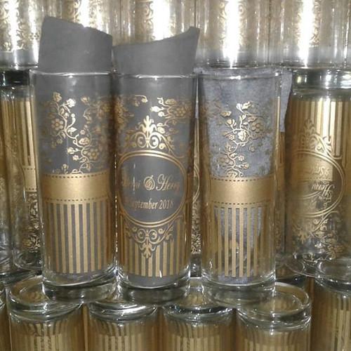 Foto Produk Souvenir gelas tinggi/souvenir pernikahan/souvenir Jakarta/souvenir dari purmata souvenir