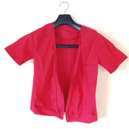 Foto Produk Baju bolero polos merah dari Firangela