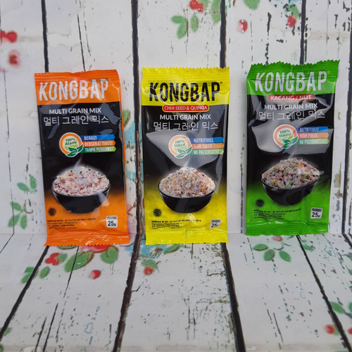 Foto Produk Kongbap Sachet 25g /Biji Bijian /Multi Grain Mix dari ferny's shop
