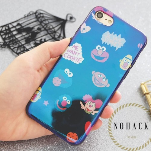 Foto Produk Blue ray case ip iphone 5 5s 6 6s 6s+ 6+ plus 7 8 8+ X oppo blueray dari Caseayangan ID