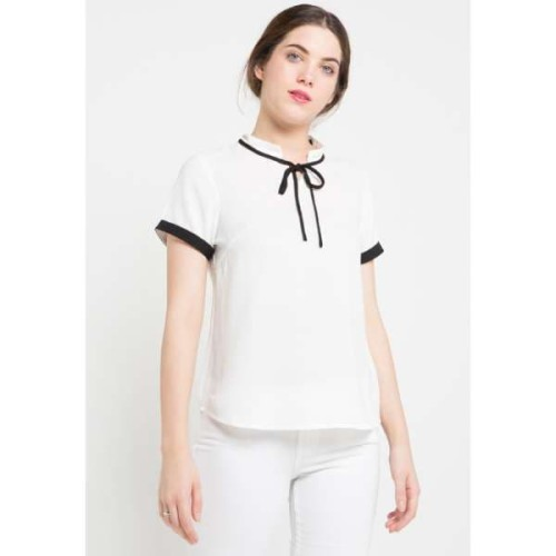 Foto Produk FAME Fashion Blouse Putih 9221454 - Putih, L dari FAME