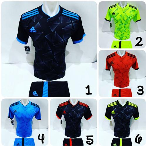 Foto Produk Baju Olahraga Jersey Bola Kaos Setelan Futsal Volly Adidas dari Surya Sport Juwana