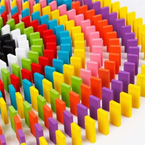 Foto Produk Balok Domino 120PCS - Multi Color dari web komputindo