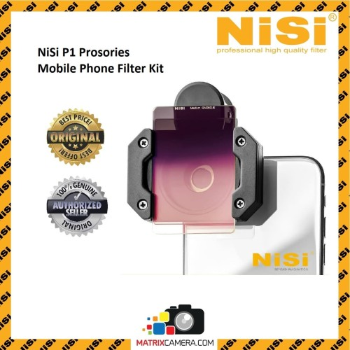 Foto Produk NiSi P1 Prosories Mobile Phone Filter Kit dari MatrixCamera