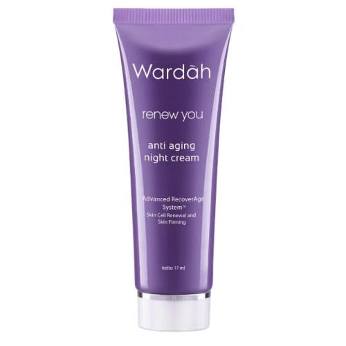 Foto Produk Wardah - Renew You Anti Aging Night Cream 17 ml dari Wardah Official