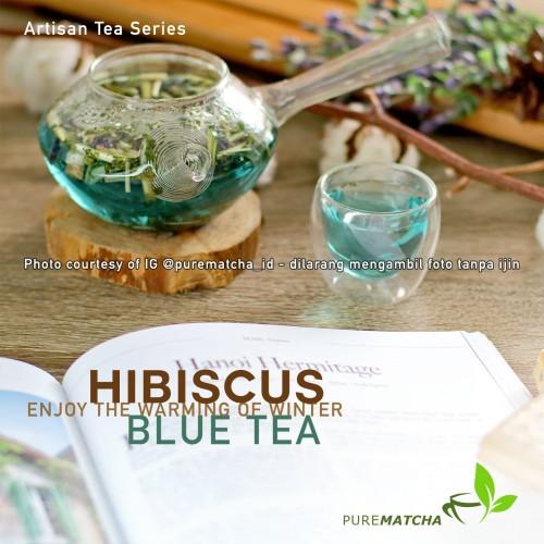 Foto Produk Artisan Tea Cafe - Butterfly Pea Tea Teh Biru Bunga Telang SAMPLE 10gr dari Pure Matcha