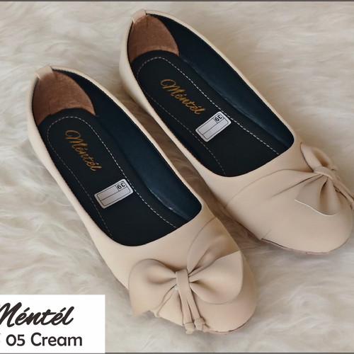 Foto Produk Sepatu wanita flat shoes MFS 05 - Cream, 36 dari Saung Alaska