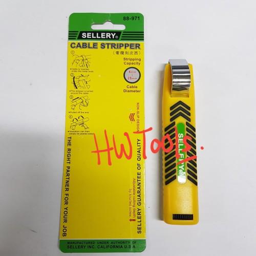 Foto Produk PENGUPAS KABEL / WIRE CABLE STRIPPER 4-28MM dari HW Tools Jkt