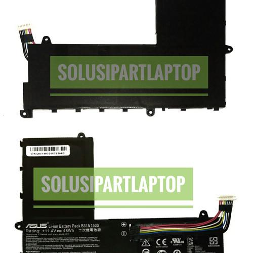 Foto Produk ORIGINAL BATERAI ASUS E202 E202S E202SA ES202 B31N1503 dari SolusiPartLaptop