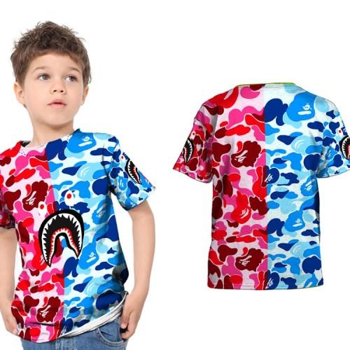 Foto Produk Kaos Baju Anak Fullprint Custom Bape Shark 01 dari HDCustom