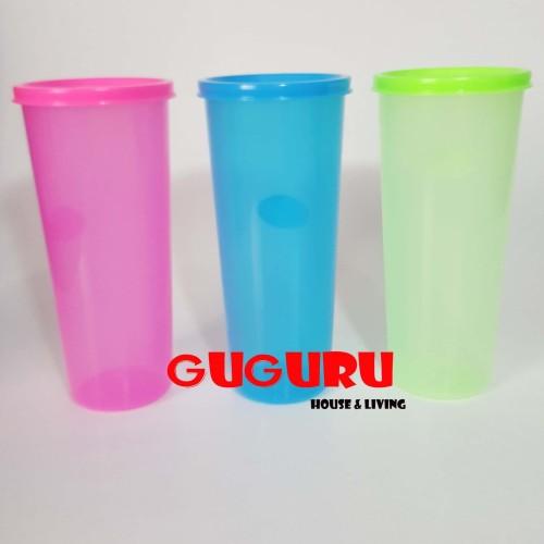 Foto Produk Souvenir Gelas Plastik Tutup (L) Tumbler Plastik Colorful Warna Warni dari Guguru