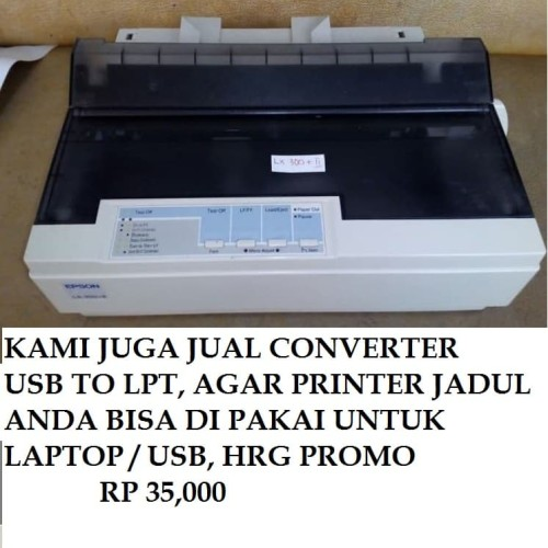 Foto Produk Printer Epson LX300+II Murah Berkualitas DotMatrix LX 300+II Mulus dari Mutiara Febry