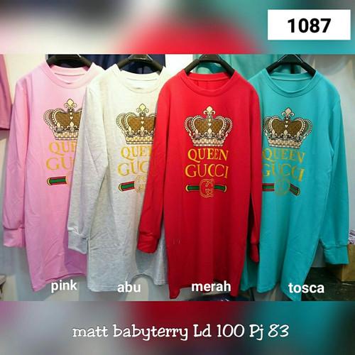 Foto Produk CTNK 1087#Tunik or dress gucci queen, - Pink dari C&R collections