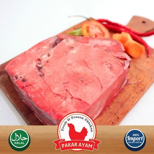 Foto Produk Paru Sapi Mentah Kemasan 500gr Import Australia Kualitas Premium. dari Pakar Ayam