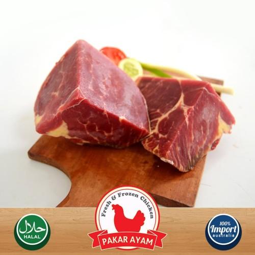 Foto Produk Daging Sapi Topside Kemasan 500gr Import Australia. Kualitas Premium dari Pakar Ayam