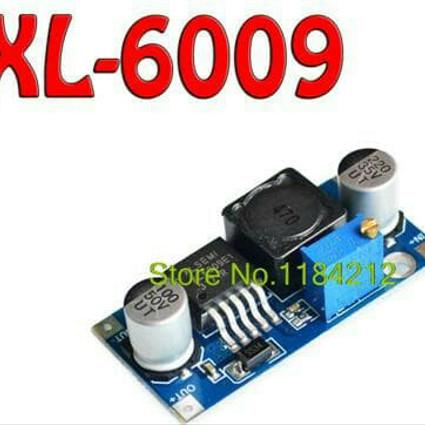 Foto Produk Modul Step Up XL6009 Adjustable 4A DC Booster Power Supply Dc dari art techno