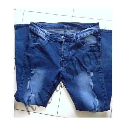 Foto Produk Celana Jeans Pria Distro Fashion - Navy, 28 dari kayu shop