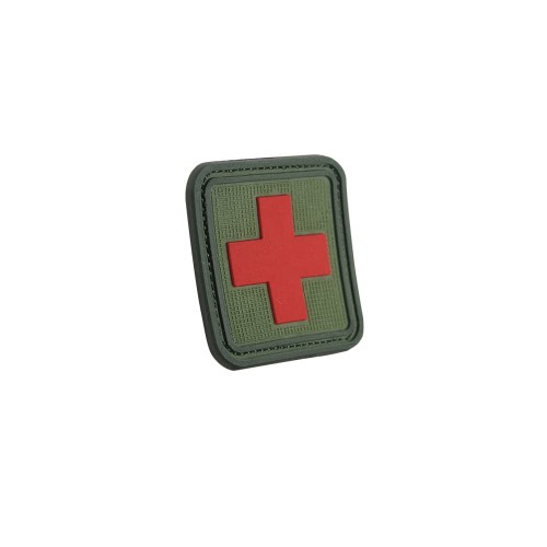 Foto Produk MOLAY RED CROSS PVC Patch - OLIVE DRAB dari Molay