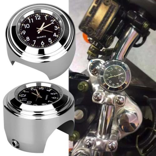 Foto Produk Jam Motor Jam untuk Stang Handlebar Motor Waterproof Motorcycle Clock dari lbagstore