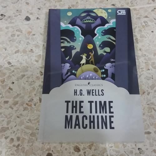 Foto Produk Novel English Classics: The Time Machine - H.G. Wells dari Pusat Komik