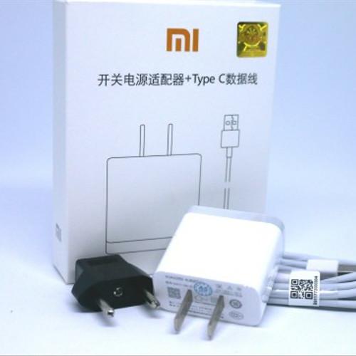 Foto Produk Charger Cas XIAOMI Mi Mix Mi Max 2 Mi Note 3 3A Fast Charging ORIGINAL - Putih dari Venomous Plague