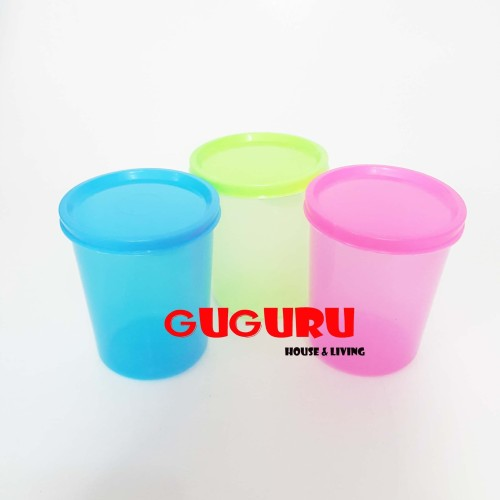 Foto Produk Souvenir Gelas Plastik Tutup (S) Tumbler Plastik Colorful Warna Warni dari Guguru