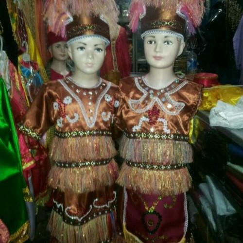 Foto Produk Pakaian adat anak baju papua saten Lk - Pr dari FAUZAN GHIFFARY SHOP