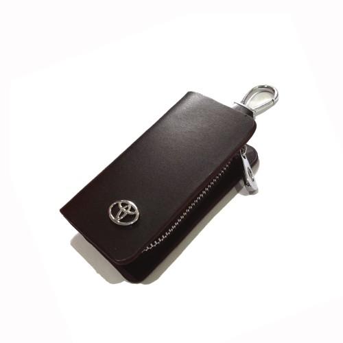 Foto Produk Gantungan Kunci Kulit Mobil Logo Toyota/ Key Chain dari Kolnik
